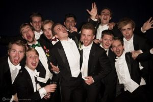 tiny little bigband op Lustrum Gala